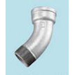 Pipe Fitting, 45° Female and Male Bend