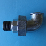 Pipe Fitting, Union Elbow with Male Screw