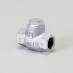 Malleable Valve, General-Purpose 10K Type, Check Valve (Lift Type) Screw-In, equipped with Reinforced PTFE Disc