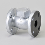 Malleable Valve, 10K Type, Check Valve (Lift Type) Flanged, NBR Disk Equipped