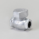 Malleable Valve, 10K Type, Check Valve (Lift Type) Screw-In, equipped with NBR Disc
