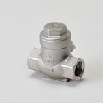 H Series, 10 K Type, Screw-In Shape, Swing Type Check Valve, JIS Intersurface Space Type (JIS B 2011)