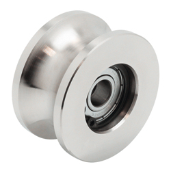 Guide Roller R, Double Bearing (GRL-S2-R)