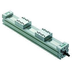 Actuator unit (open and close type, specify stroke dimension)