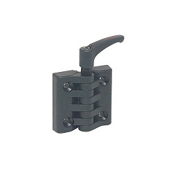Engineering Plastic Flat Hinge, Lock Type (EFHL)