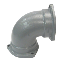 Flexible Joint for Steel Drainage Pipe, 90° Long Radius Elbow (90°LL)
