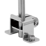 Sensor Bracket, Stainless Steel / Mounting Base, Vanbrugh Base S