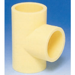 JFE Polybutene Tube, H-Type Fitting (Heat Fusion Type) Tee