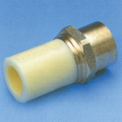 JFE Polybutene Tube, H-Type Fitting (Heat Fusion Type) Socket with Female Screw (Integrated)