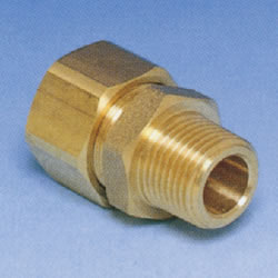 JFE Polybutene Pipe M Type Fitting (Mechanical) Socket with Male Threads