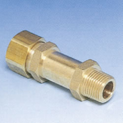 JFE Polybutene Pipe M Type Fitting (Mechanical) Socket with Long Male Threads