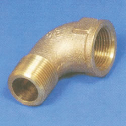 JFE Polybutene Pipe M Type Fitting (Mechanically Operated) Street Elbow