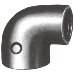 Screw-In Malleable Cast Iron Pipe Fitting, Reducing Elbow