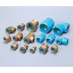 Pipe-End Anticorrosion Fitting for Water Supply Dual-Use Type, Core Fitting, CD Core, Tee