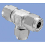 Junron Stainless Fitting US2 Series Union Tee for Flexible Tubes