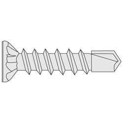 Drill Screw, Plate gusset