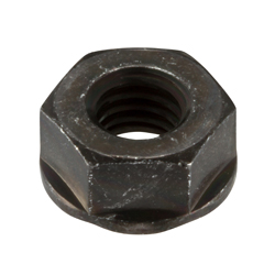 Flange nut without serrations; Weight