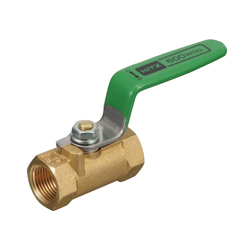 Brass-Made General Purpose 600 Model Threaded Ball Valve, (Lever)