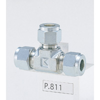 Stainless Steel High Pressure Fittings Tee Union