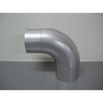 Stainless Steel Duct Fitting 90° Press Bend