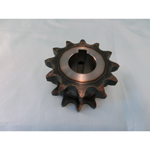 35SD Single/Double Sprocket: Semi F Series with Pre-bored Shaft Holes (New JIS key)