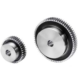 Polished Flat Gear, m1, S45C Type