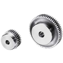 Polished flat gear, m3, S45C type