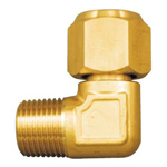 Copper Tube Fittings, Fittings for Flared Type Copper Tube (Refrigerant Compatible), Flared One-Side Threaded Elbow
