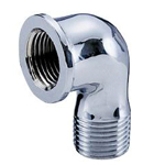 Auxiliary Material for Piping, Fitting, and Plumbing, Fitting for Water Supply Piping, Plated Fittings - Street Elbow