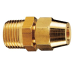 Copper Pipe Fitting, Flare Copper Pipe Fitting, Flare Outer Thread Adapter