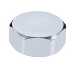 Auxiliary Material for Piping, Fitting, and Plumbing, Fitting for Water Supply Piping, Plated Fittings - Hexagon Caps
