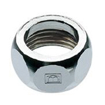 Faucet and related products flexible tube cap nut
