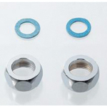 Faucet and related products flexible tube cap nut and non-asbestos packing set