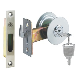 Tubular Sliding Door Hook Simple Cylinder