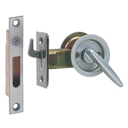 Tubular Sliding Door Hook Lever With Indicator