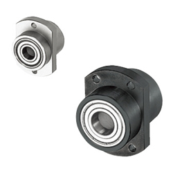 Bearings with Housings - Double Bearings with Pilot, Non-Retained, L Configurable