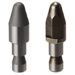 Locating Pins for Fixtures - Standard Grade, Short Set Screw - Circumference Groove - Shouldered