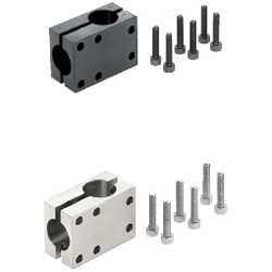 Strut Clamps - Equal Dia., Perpendicular Configuration, Split, T-Shaped