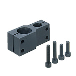 Strut Clamps - Unequal Dia., Parallel Holes, Pitch Selectable
