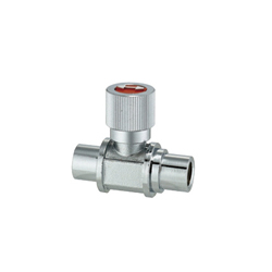 Compact Ball Valves/Brass/Knurled/PT Female/PF Female