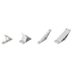 Angled Brackets - For 5 Series (Slot Width 6mm) Aluminum Extrusions