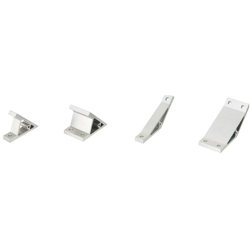 Angled Brackets - For 6 Series (Slot Width 8mm) Aluminum Extrusions