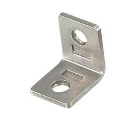 Thin Stainless Steel Tabbed Brackets For 6 Series (Slot Width 8mm) Aluminum Extrusions