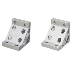 Ultra Thick Brackets - For 2 Slots - For 8 Series (Slot Width 10mm) Aluminum Extrusions