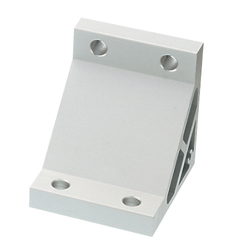Tabbed Brackets / Extruded Brackets - For 2 or More Slots - For 8-45 Series (Slot Width 10mm) Aluminum Extrusions - Ultra Thick Brackets