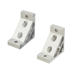 Extruded Brackets for 50 square - For 1 Slot - For 8-45 Series (Slot Width 10mm) Aluminum Extrusions