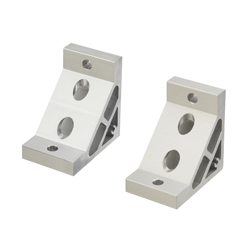 Extruded Brackets for 60 square - For 1 Slot - For 8-45 Series (Slot Width 10mm) Aluminum Extrusions