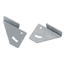 Free Angle Sheet Metal Brackets - For 6 Series (Slot Width 8mm) Aluminum Extrusions
