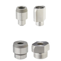 Locating Pins - Large Head, Tapered - Screw Mounted, Standard / Compact