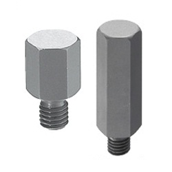 Height Adjusting Pins - Hex - Threaded - High Accuracy